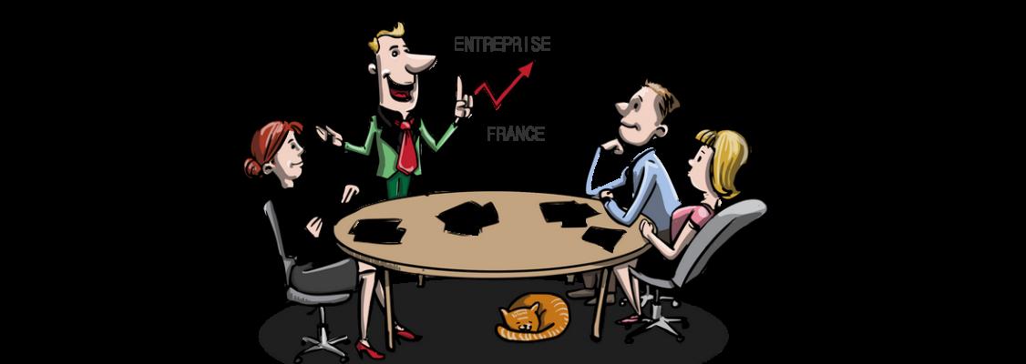 Le nombre d'entreprises en France - Classement par taille du nombre d'entreprises françaises