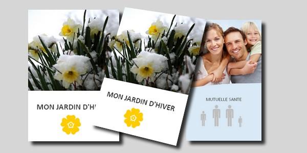 Documents commerciaux papier en-tête - enveloppe - plaquette - flyer